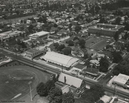Aerial view of Cascade Campus, circa 1969 : A2010-002.205